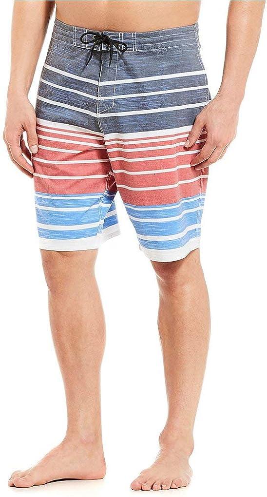 Roundtree & Yorke Men's Big & Tall Surf Shop Quick Dry Hybrid Board Shorts