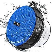 Olafus Altavoz Bluetooth Ducha, IPX7 Impermeable con Ventosa Desmontable, Mini Altavoz Inalámbrico Portátil Exterior Interior, 10H de Reproducción, Micrófono Incorporado para Llamada Manos Libros