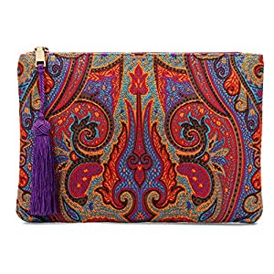 Otto Angelino Sobre de diseño - Bolso de mano - Pequeño bolso de mujer tejido con borla - Espacio para tarjetas de…   DeHippies.com