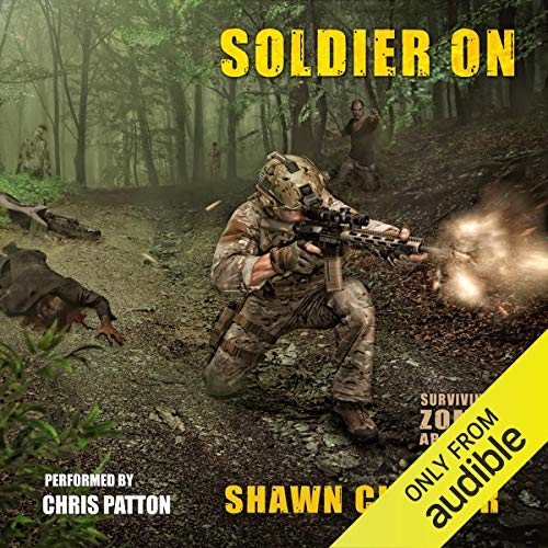 Soldier On audiobook cover art