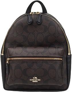 Coach Mini Charlie Pebble Leather Backpack