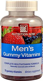 Nutrition Now Vitamin Gummy Men's, 70 ct