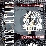 Atlas Extra Large Condoms: 100-Pack of Condoms