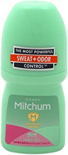 Mitchum Women Invisible Roll-On, Powder Fresh 1.7 oz (Pack of 5)