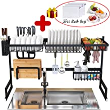 Best dish rack over sink black Reviews