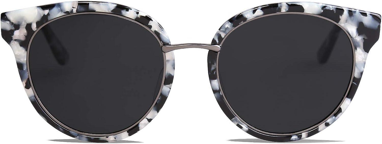 Max 88% OFF SOJOS Round Polarized Sunglasses for Handmade Bombing new work Women Men Acetate