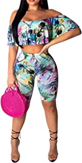 Women Sexy Bodycon 2 Piece Outfits V Neck Zip Up Long Sleeve Crop Top Midi Dress Skirt Set Plus Size Party Club Clubwear