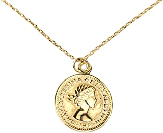 6 pence necklace