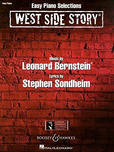 West Side Story: Easy Piano Selections. Klavier.