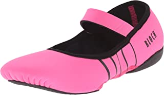 Bloch Women's Contour Rubber Front-Sole Pilates/Yoga/Barre Studio Athletic Shoe