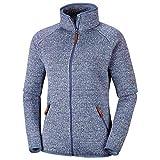 Columbia Chillin Fleece Non Hooded Giacche e Maglioni in Pile, Donna, Blu (Bluebell), S