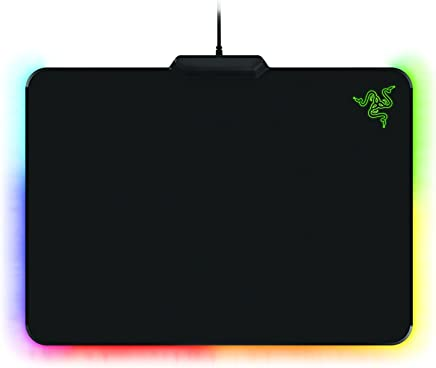 Razer Firefly Chroma Cloth - Customizable RGB Anti-Slip Cloth Gaming Mouse Pad - 16.8 Million Color Combinations