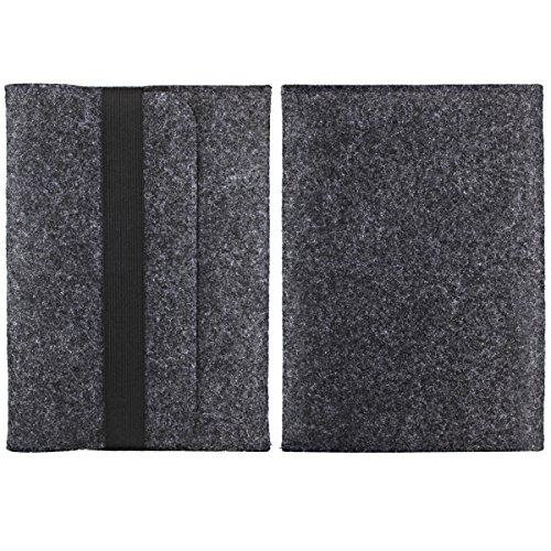 Alienwork Schutzhülle für iPad Pro 10.5/iPad Pro 11 Tragetasche Hülle Hülle Tasche Etui Sleeve Tragbarer Filz schwarz ADP10501-01