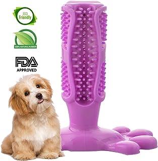 Swonuk Cepillo para Dientes de Perro Cepillo para Perros Dientes más Limpios Masticar Juguetes Cuidado Bucal