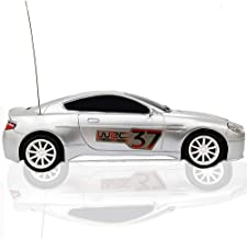 Top Race® Aston Martin 4ch Rc Remote Control Racing Car with Lights (Colors Vary Silver or Blue)