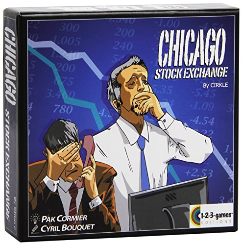 Blue Orange Games BLU64119 Chicago Stock Exchange, Brettspiel