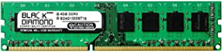 4GB RAM Memory for Gigabyte GA-7 Series GA-790FXTA-UD5 240pin PC3-10600 DDR3 DIMM 1333MHz Black Diamond Memory Module Upgrade