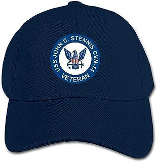 ADGoods Kids Children USS John C Stennis CVN-74 Veteran Baseball Cap Adjustable Trucker Cap Sun Visor Hat For Boys Girls G...