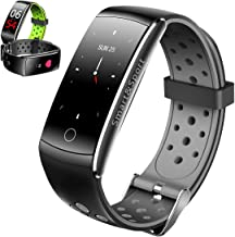 FromPRO Fitness Tracker HR,Activity Tracker Heart Rate Monitor Watch with Sleep Health Step Monitor,Calorie Counter Fitnes...