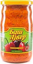 Bas Ajvar mild Homemade roasted pepper and eggplant spread 720ml