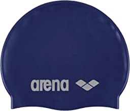 arena Classic Silicone Unisex Swim Cap for Women and Men