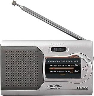 Mini Receptor de parlantes de música estéreo CY Silver Silver Slim Am/FM (Color