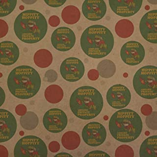 GRAPHICS & MORE Hippity Hoppity Abolish Private Property Communist Toad Funny Humor Premium Kraft Gift Wrap Wrapping Paper Roll