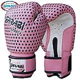 Farabi 4-Oz Kids Boxing Sparring Punching Bag Training Gloves Junior Pink