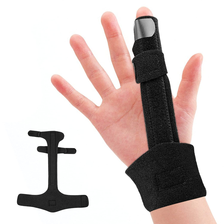 Finger Splint, Medical Grade Aluminum Brace Support Guard Splints, Trigger Finger Splint, Straightening Immobilizer Treatment For Sprains, Pain Relief, Mallet Injury, Arthritis, Tendonitis: Industrial & Scientific