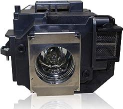 HFY marbull E58 Remplacement Lampe du projecteur avec Le logement pour Epson EB-S10 EB-S9 EB-S92 EB-W10 EB-W9 EB-X10 EB-X9 EB-X92 EX3200 EX5200 EX7200 Powerlite 1220 PowerLite 1260 Vid/éoprojecteur