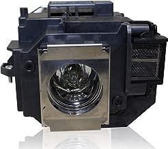 PanPacSight Bombilla Proyector ELPLP54 V13H010L54 Compatible con Epson EB-S7 S7+ S72 S8 S82 X7 X72 X8 X8E W7 W8, EH-TW450, EX31 EX31B EX51 EX71 H309A H310a H311a H311B H310C PowerLite HC 705HD Lampara