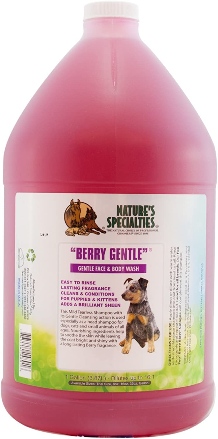 Nature's Specialties Berry Gentle Pet Shampoo