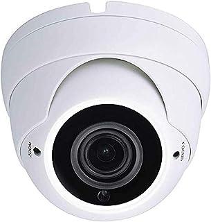 Cámara CCTV híbrida Sinis HD 1080P2MP TVI/CVI/AHD/CVBS 4 en 1 Lente varifocal 2.8-12mm 36 IR LED IR CutInterior/Exterior Cámara de Seguridad de vigilancia -Salida TVI