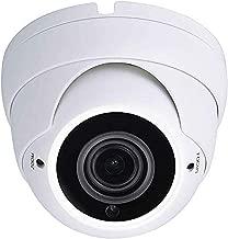 Sinis Super Hybrid 5MP 4MP 1080P HD-TVI/CVI/AHD/960H CCTV Surveillance Security Camera Day Night Vision Waterproof Outdoor/Indoor 2.8-12mm Varifocal Lens Metal Array Dome Video System