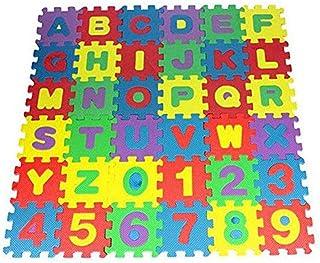 36 PCS ALPHABET AND NUMBER PUZZLE MAT