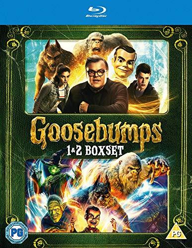 Goosebumps 1&2 [Blu-ray] [2018]