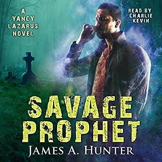 Savage Prophet audiobook cover art