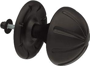 Amig Deurknop, 75 mm, mat, zwart