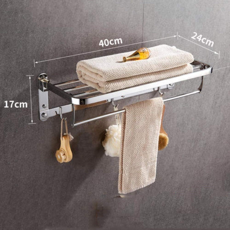 el mas reciente WOSBE Moderno Toallero Barra Toallero libre de perforación perforación perforación bao 304 bao de acero inoxidable inodoro toallero bao estante estante de montaje en parojo  comprar mejor