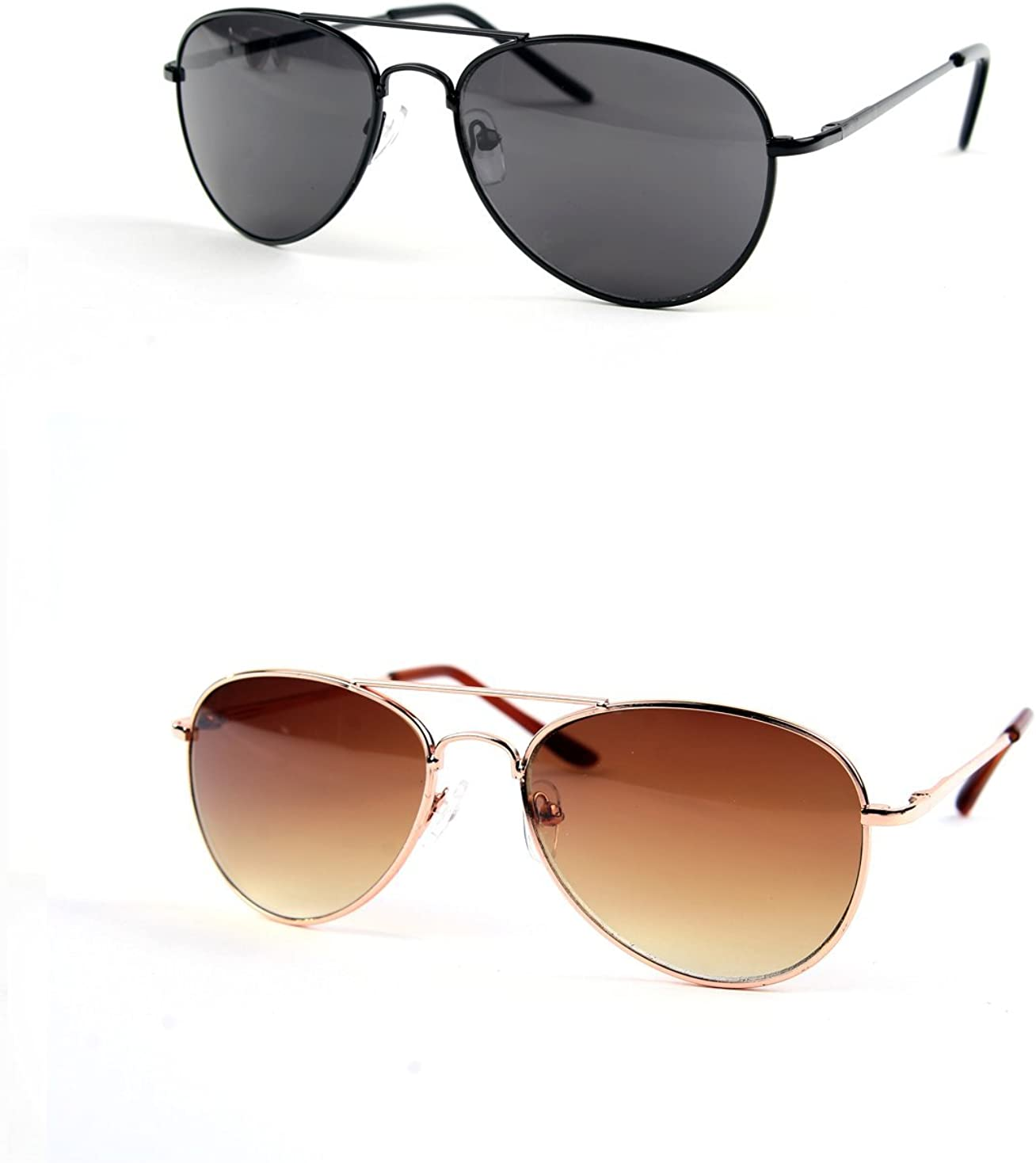 Children Metal Classic Aviator Color pc 2 Sunglasses Challenge the lowest price P1302 Low price Lens