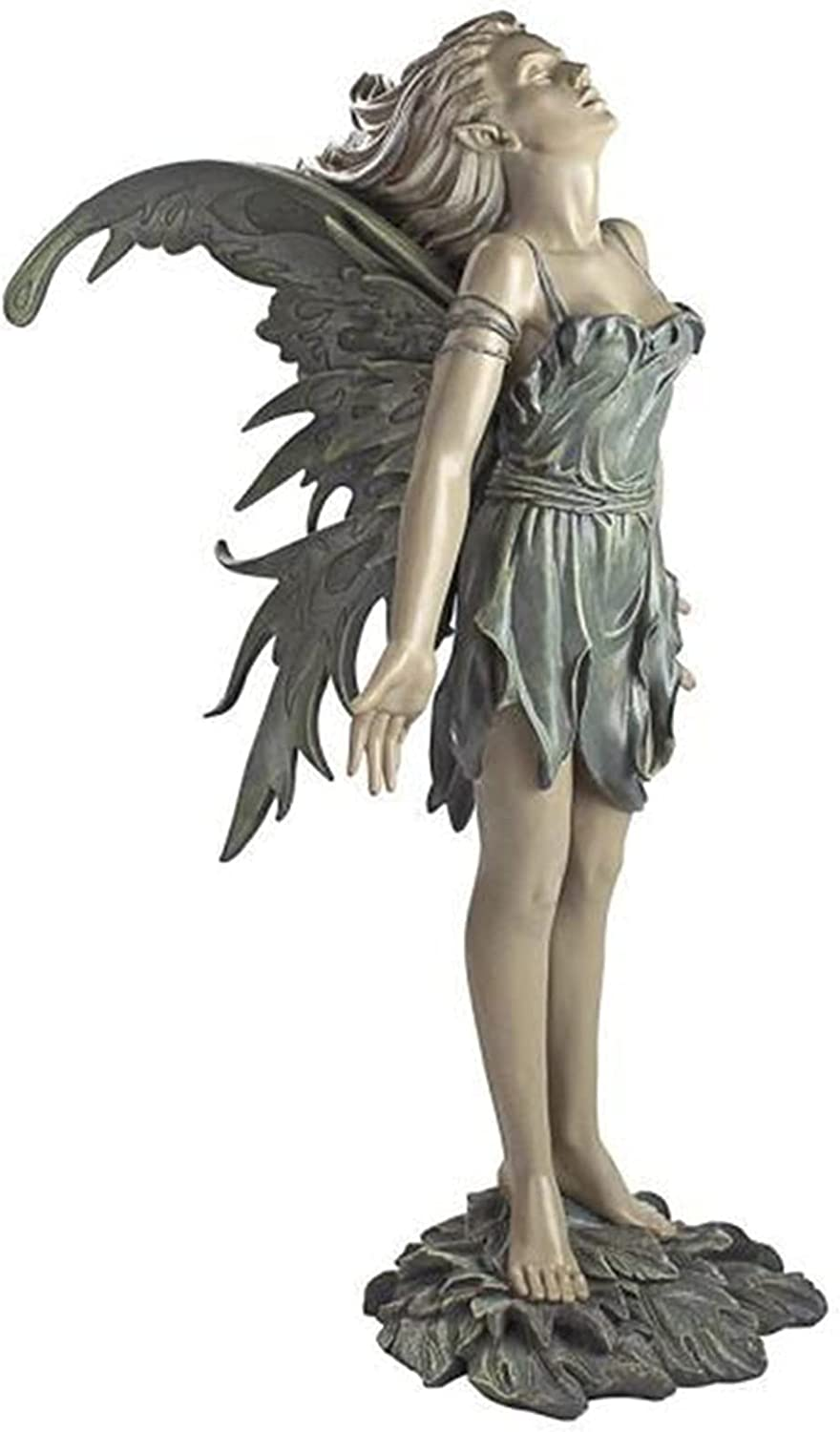 Qiguai Sale Special Price Angel Statue Hand Painted Outdoor Crafts Resin OFFicial Land Fairy