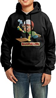 Handy Manny Cartoon Youth Classic Pullover Athletic Sweatshirt Hoodies