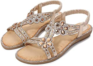 Cutout Sandals, summer Comfortable Flat Sandals, bohemian Style Women's Shoes, casual Wedge Sandals