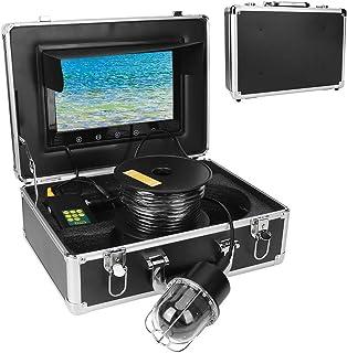 Cámara de pesca submarina de 10,1 pulgadas, buscador visual de peces submarino, cámara domo de 20 luces IP68, resistente a...