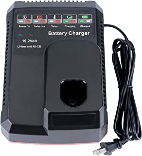 Lasica 19.2V C3 Battery Charger 140152004 for 19.2-Volt Craftsman C3 Lithium & NiCad XCP Battery 130279005 315.CH2030 11375 11376 5336 315.PP2011 130279003 Craftsman C3 Charger, 110-220V US Plug