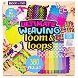 Made By Me Ultimate Weaving Loom by Horizon Group Usa, Includes Over 360 Craft Loops & 1 W...