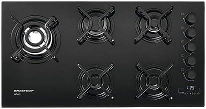 Cooktop 5 bocas Brastemp com quadrichama e timer touch - BDT85AE BIVOLT