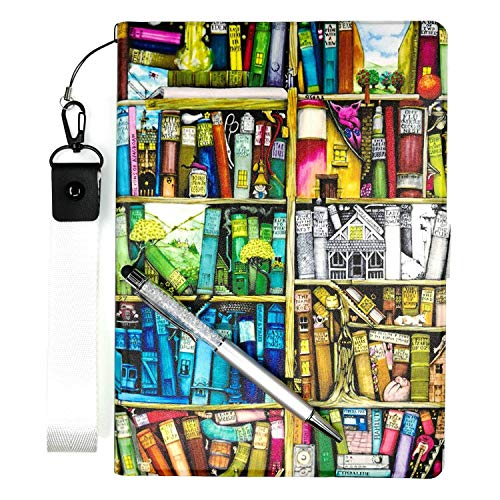E-Reader Case for Barnes Noble Nook Glowlight 3 Case Stand PU Leather Cover SJ