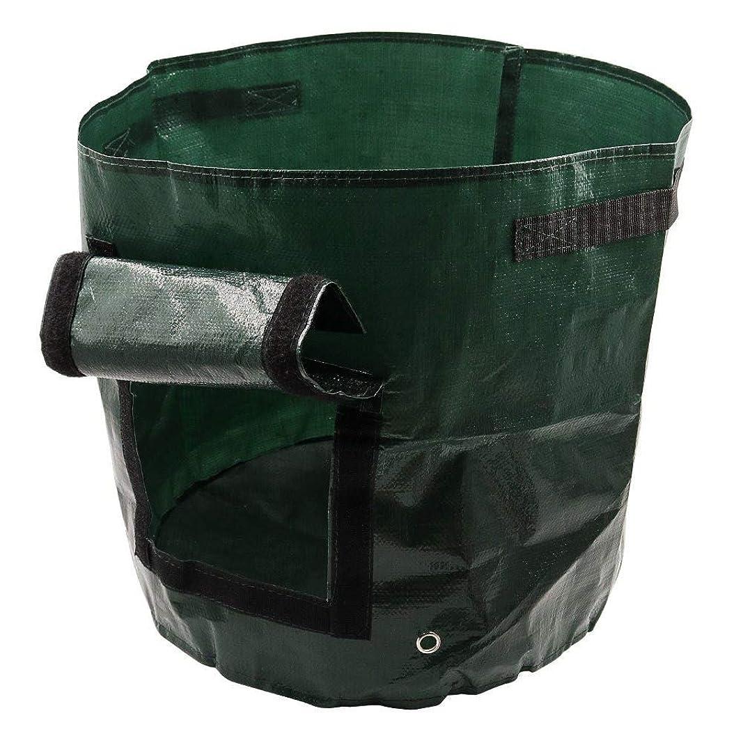 科学的側持続する植付バッグジャガイモ植え付けPEバッグ栽培ガーデンポットホームガーデニング用品,5 Pcs,10Gallon