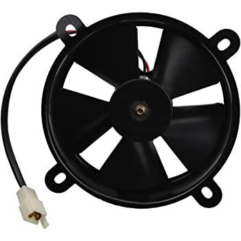 KKmoon Universal Electric Radiator Thermal Cooling Fan for Motorcycle ATV Go Kart Quad 150-250CC